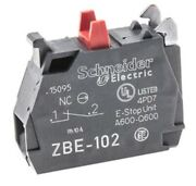 Schneider 1nc Contact Block For Pushbuttons Zbe102 Pack Of 3