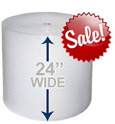 24 Wide 3/16 X 175' Ft Bubble Roll. Cushion Choose Roll Qty. Wrap It Up