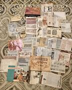 Huge Lot - Vintage Tandy Craftaid Leather Carving Patterns Instructions Stohlman