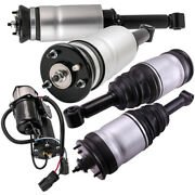 Front Rear Suspension Struts And Air Pump For Land Rover Lr3 Lr4 Rpd501100