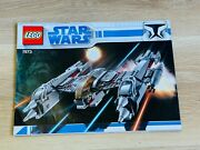Lego - Instructions Booklet Only - Star Wars 7673 - Magna Guard Starfighter