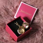 Nwt Juicy Couture Music Box Charm For Bracelet Purse Rare Limited Edition 2014