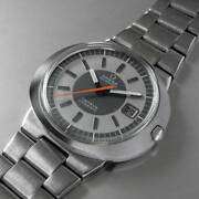 Omega Geneve Dynamic Ref.136.033 Vintage Date Automatic Mens Watch Auth Works