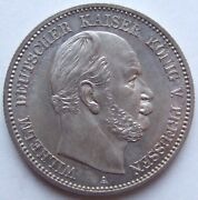 2 Mark Wilhelm Prussia 1884 A In Uncirculated Rarely