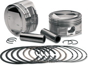 Sands Cycle Forged High Compression Performance Engine Piston Kit 92-1212