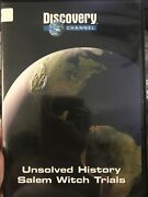 Unsolved History Dvd. Salem Witch Trials. Discovery Channel. •rare M5