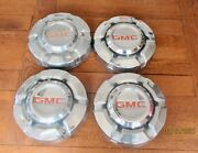 1968 75 Gmc Vintage Chevrolet Pickup Truck Jimmy Hubcaps Wheel Covers 1/2 Ton