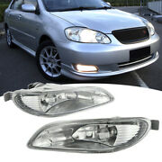 For 2005-2008 Toyota Corolla/2002-2004 Toyota Camry Fog Lights Lamps No Wiring