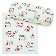 Sanrio Hello Kitty Glasses Case Happy Spring New With Glasses Wipe From Japan