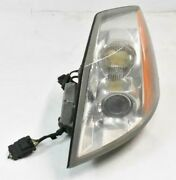 04-05 Cadillac Xlr Headlight Lamp Assembly Xenon Hid Left Driver Lh Oem