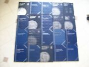 40 Used And Unused 1,5,10,25.50,1.00 Whitman Coin Folder Books With Free Shipping