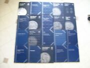 40 Used And Unused 151025.501.00 Whitman Coin Folder Books With Free Shipping