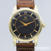 Omega Ref.2577-18sc Vintage Cal.351 Half Rotor Automatic Mens Watch Auth Works