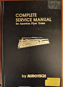 Complete Service Manual For American Flyer Trains Aurotech 1978