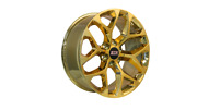 22x9 6x139.70 Str701 Snowflake Candy Gold Made For Chevy Avalanche