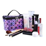 Women Makeup Case Pouch Toiletry Organizer Multifunction Travel Cosmetic Bag