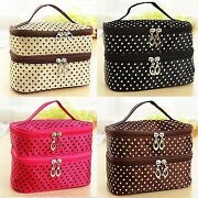 Travel Multifunction Cosmetic Bag Organizer Pouch Toiletry Wash Case Makeup