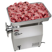 1800w 770lbs/h 110v Commercial Electric Meat Grinder Sausage Maker+meat Plate Ce