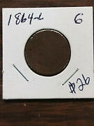 Coin - Us - Small Cents - Indian Head - 1864 - L - G