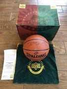 Kevin Durant Signed Basketball Upper Deck Uda Rookie Autograph Official Game