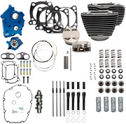 S And S Cycle Black Water Cooled 124 Power Packages For M-eight 310-1054a