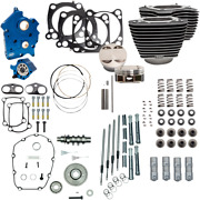 S And S Cycle Chrome Water Cooled 124 Power Packages For M-eight 310-1051a
