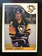 1985 Mario Lemieux Opc Mint O-pee-chee Mint Hockey Rookie Card Rc 9