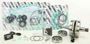 Wiseco Engine Rebuild Kit W/ Crank Main Bearings Seals And Gaskets Pwr175-100