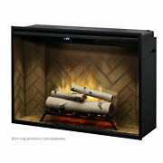 Dimplex Revillusion 42 Built-in Electric Firebox With Herringbone Liner