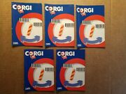 Lot Of 5 Corgi 1985 Toy Catalogs Cars, Classis, Trucks, Commercial Good Cond.