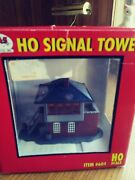 Atlas 604 Ho Trackside Signal Tower With Decals Stickers Unused
