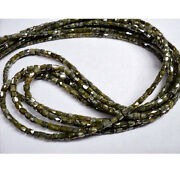 5 Strands Rough Lot Rough Diamond Faceted Beads Drum Shaped 2-1mm 100ctw 16cb15