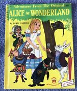 1951 Wonder Books 35 Cent Alice In Wonderland - No Marks - Beautiful Pages