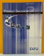 Exfo 2001 Product Overview Fiber-optic Test Equipment Volume 5 Number 1 Catalog.