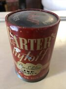Vintage Carterand039s Rytoff Ink Eraser Tin And Bottle
