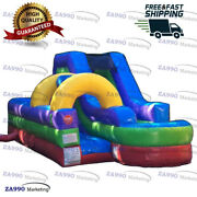 30x10ft Commercial Inflatable Slip-n-slide Combo Water With Air Blower