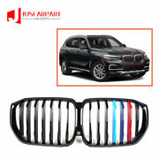 For Bmw X5 G05 Front Bumper Grill Grille Single Slat Tricolor 2019-2021