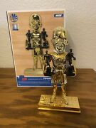 2016 Stephen Curry Golden State Warriors 2x Mvp All-gold Bobblehead Steph New