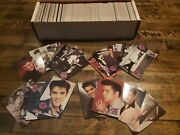 Elvis Presley Collection The Cards Of His Life Vintage Trading Card Lot Of 100s