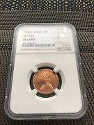 1862 India Queen Victoria 1/2 Pice Proof Coin Ngc Pr63 Rd Top Pop 2/0 Rare