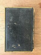 1873 Bible Cloth/leather Antique Rare Judaica Berlin With Clasp
