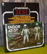 Star Wars Carded Vintage Collection Vc Return Of The Jedi Endor At-st Driver