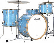 Ludwig Classic Mapie Glacier Blue Pearl Limited Edition 4pc Shell Pack In Stock