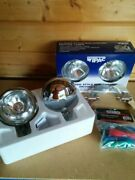 Bmw Mini Spot Lights Driving Lamps Brushed Steel Like Chrome Wipac S6066