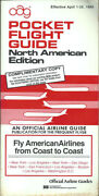 Oag Official Airline Guide North American Pocket Timetable 4/1/84 [1031]