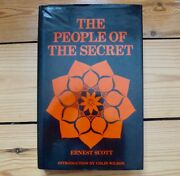 The People Of The Secret, Ernest Scott 1st Ed H/b, 1983, Occult, Sufism, Cabbala
