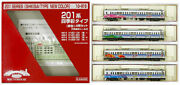 Used Gauge/kato 10-919 Roundhouse Series 201 Four Seasons Color Typecolor 4-car