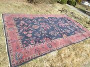 Antique Chinese Deco Rug 7and039 X 11and039 Nice 1920-30