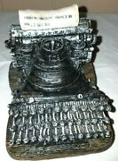Collectible Paperweight Typewriter Decorative Heavy Resin Vintage Titanic Theme