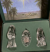 Marquis Waterford Crystal Holy Family Set